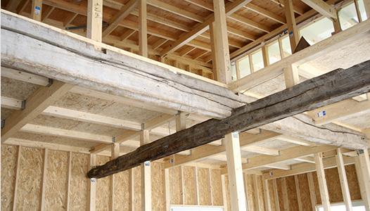 木の専門家が手がける家